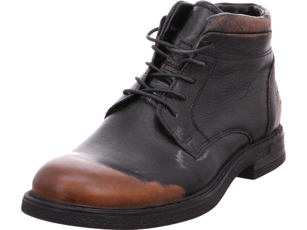 Billig gute Qualität Mjus Herren  Stiefel schwarz