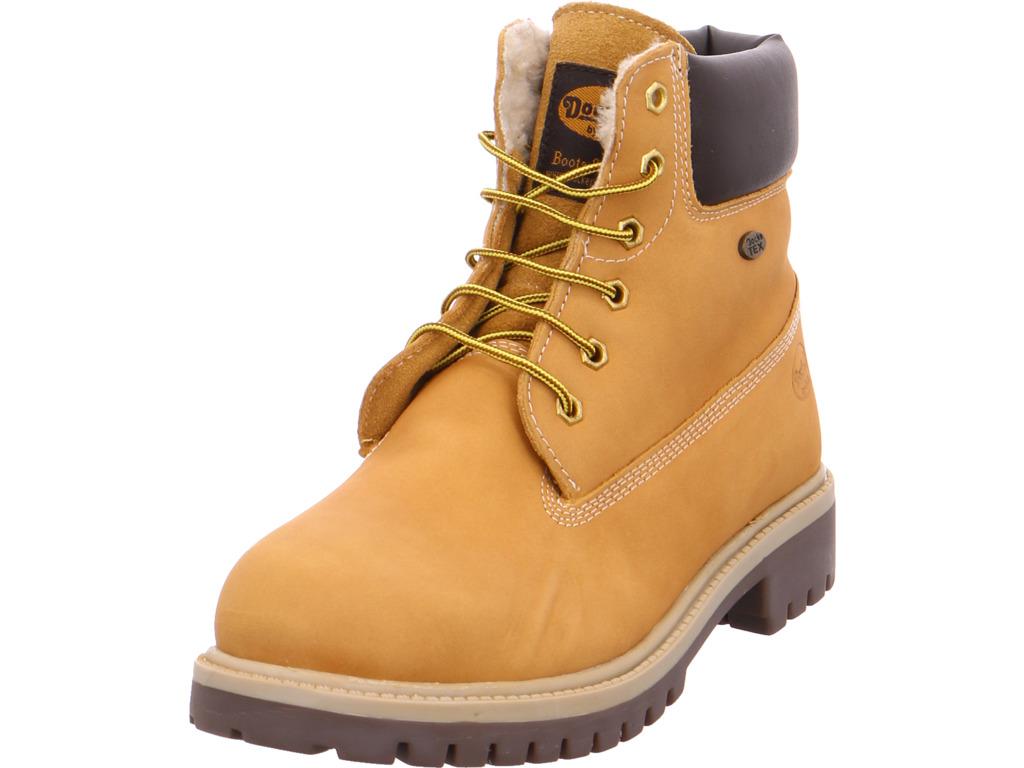 Dockers  Damen  Dockers Stiefel gelb e36ef5