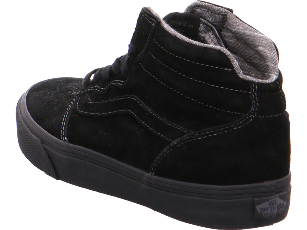 Billig hohe Qualität vans Herren  Stiefel schwarz