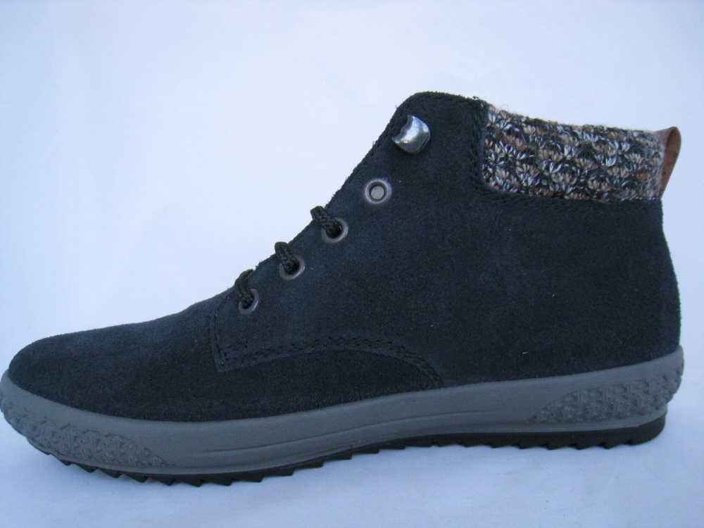 Rieker Damen  Stiefel Stiefel Stiefel blau 9602f4
