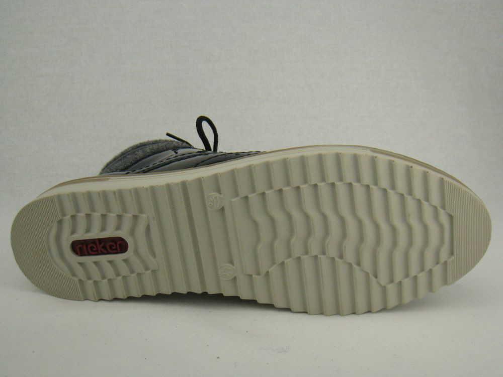 Rieker Damen  Stiefel Stiefel  blau 8f0893