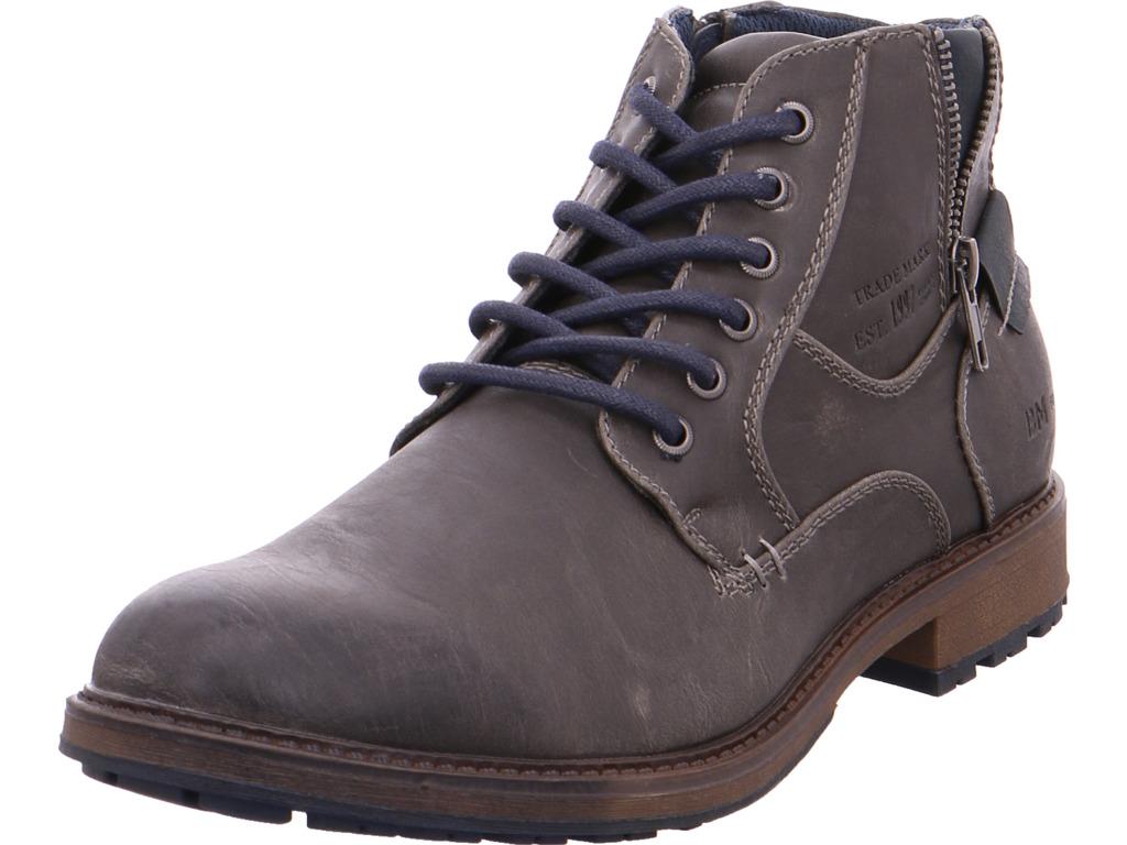 Pep Step Herren 1612503,coal Stiefel grau