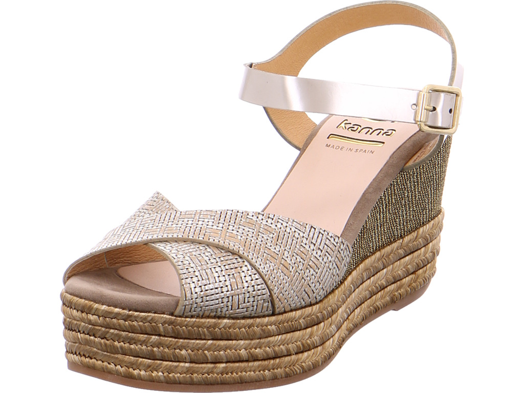 kanna Damen  Sandale beige